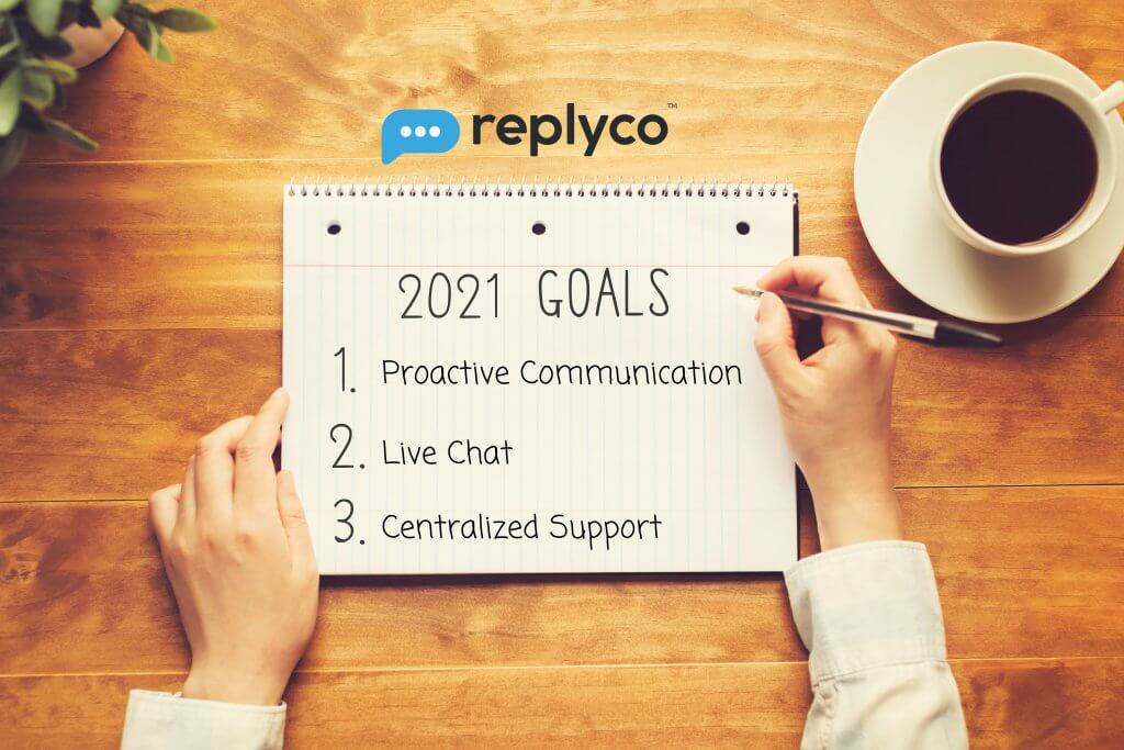 Three Tips to Take Control of your Customer Service in 2021 - Replyco Helpdesk Software for eCommerce