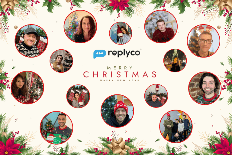 Happy Holidays from Our Family to Yours - Replyco Helpdesk Software for eCommerce