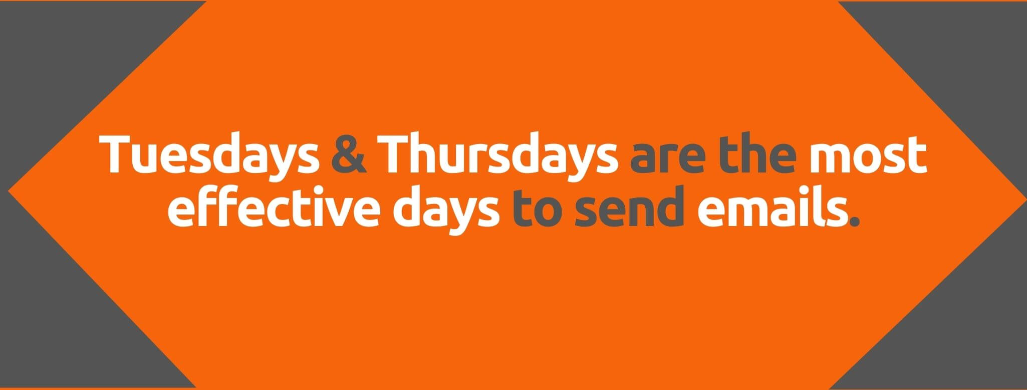 Tuesdays & Thursdays are the most effective days to send emails - 80+ Email Marketing Stats - Replyco Helpdesk Software for eCommerce