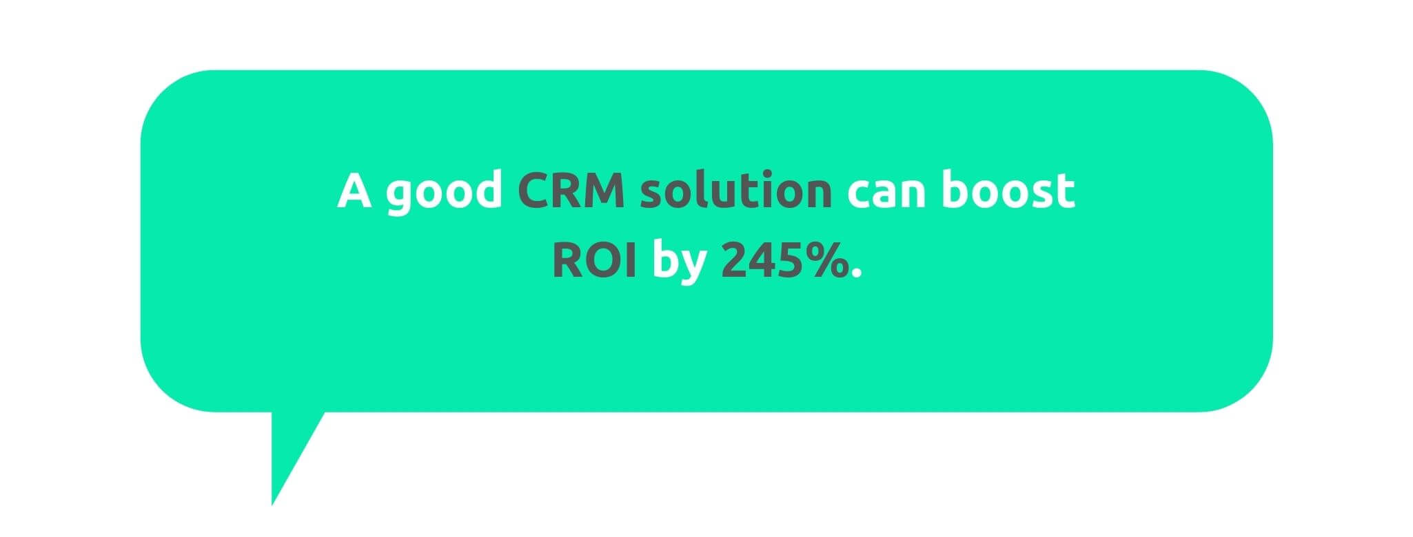 CRM Increases ROI - 50+ CRM Stats - Replyco Helpdesk Software for eCommerce