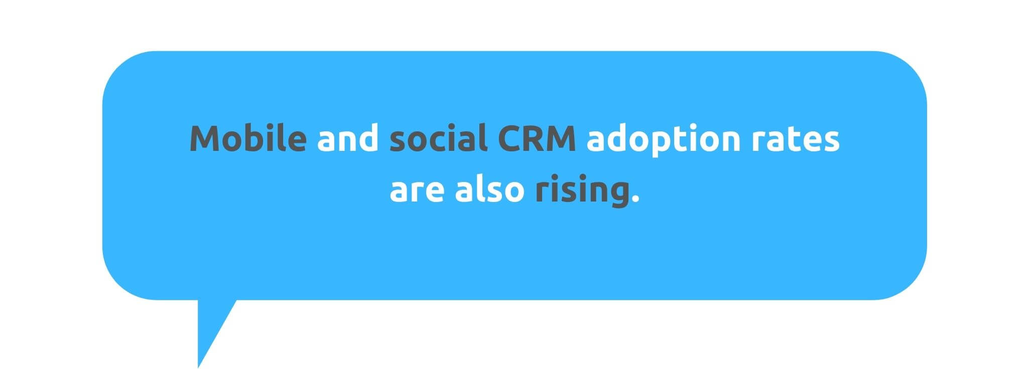 Mobile and Social CRM Are Also Rising - 50+ CRM Stats - Replyco Helpdesk Software for eCommerce