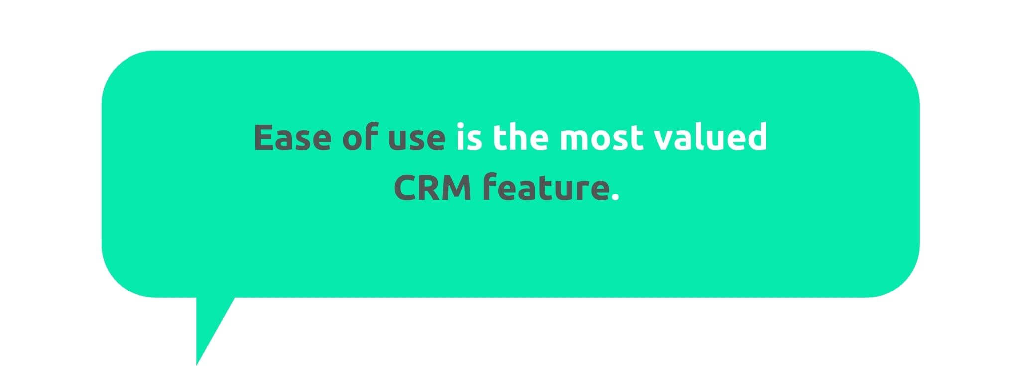 Business Value Ease of Use - 50+ CRM Stats - Replyco Helpdesk Software for eCommerce