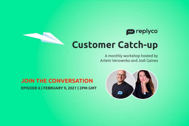 Customer Catch-Up February 9 (Ep 6) - Replyco Helpdesk Software for eCommerce