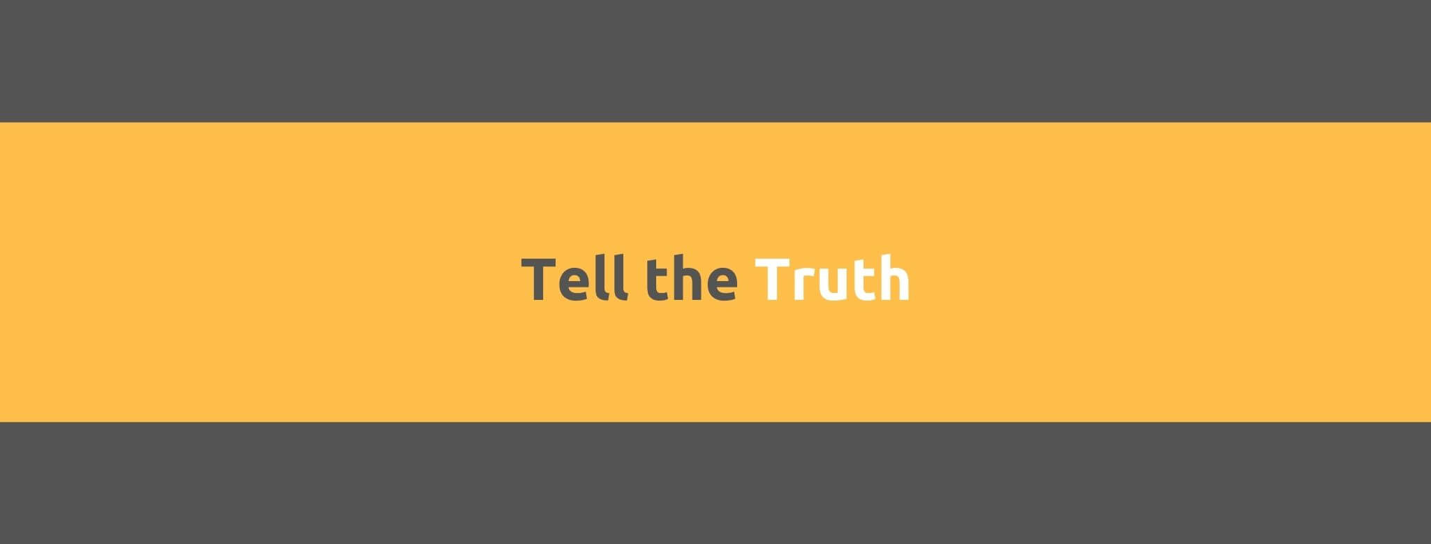 Tell the Truth - 25 Rules for Great Customer Service - Replyco Helpdesk Software for eCommerce