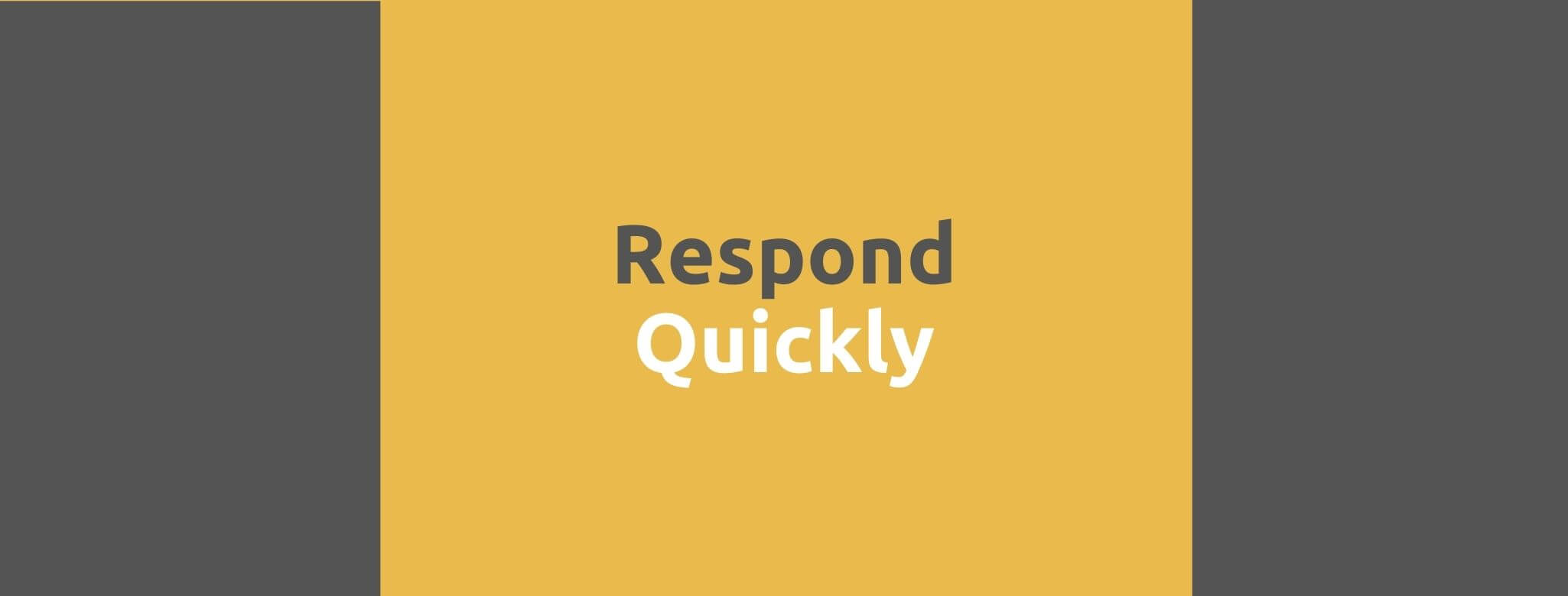 Respond Quickly - 35 Things Every Seller Should Do to Offer Great Customer Service - Replyco Helpdesk Software for eCommerce