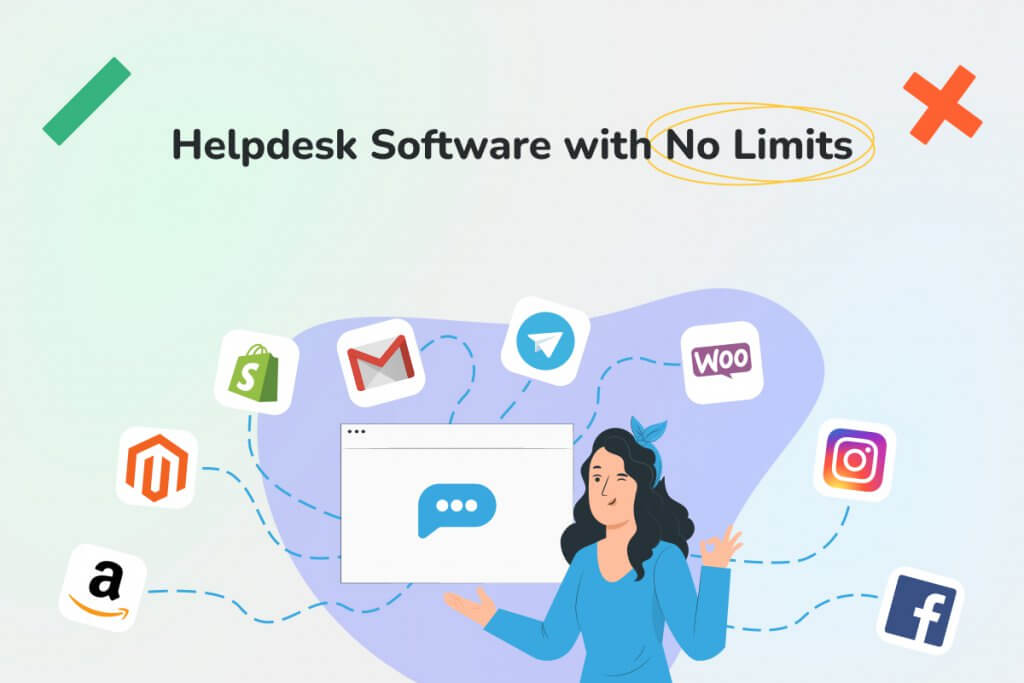 Helpdesk Software with No Limits - Replyco Helpdesk Software for eCommerce